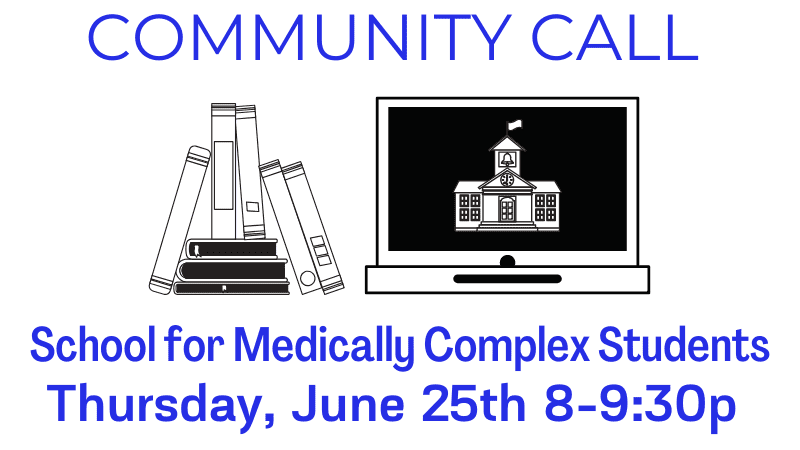 Community Call School for Medically Complex Students 20200625