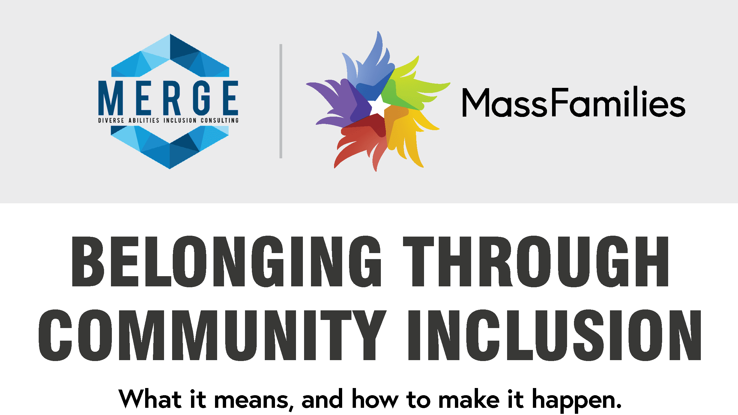 Belonging Through Community Inclusion
