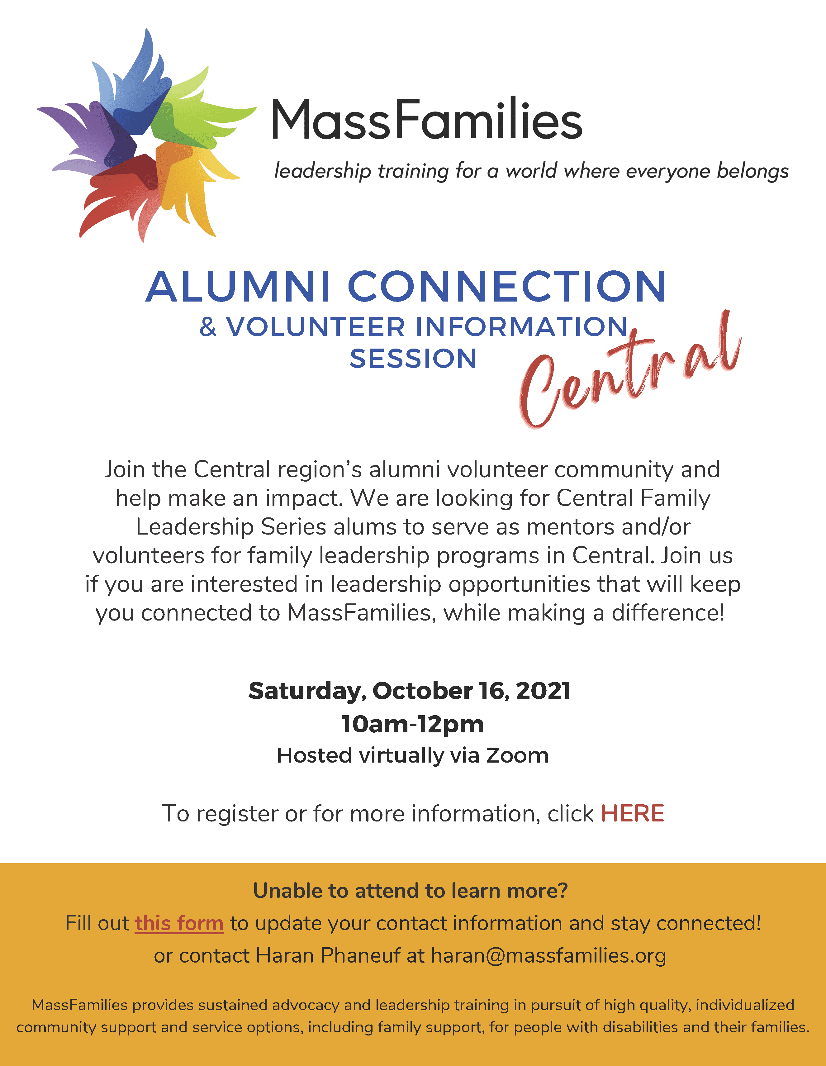 Central Alumni Connection