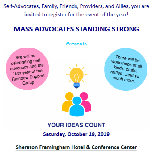 MASS ADVOCATES STANDING STRONG ANNUAL CONFERENCE 2019