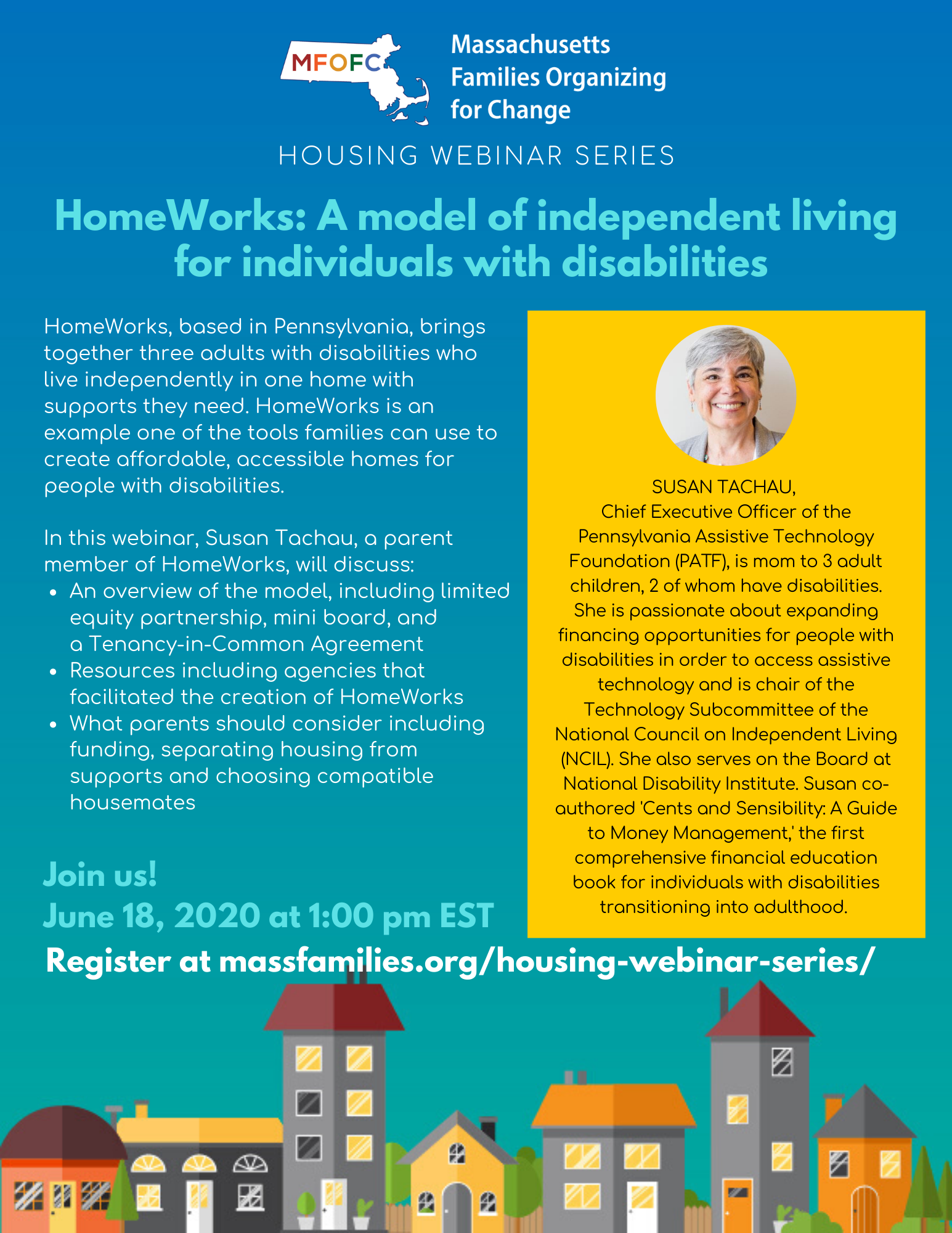 MFOFC Housing Webinar June 2020 Susan Tachau