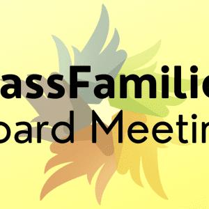 MassFamilies Board Meeting