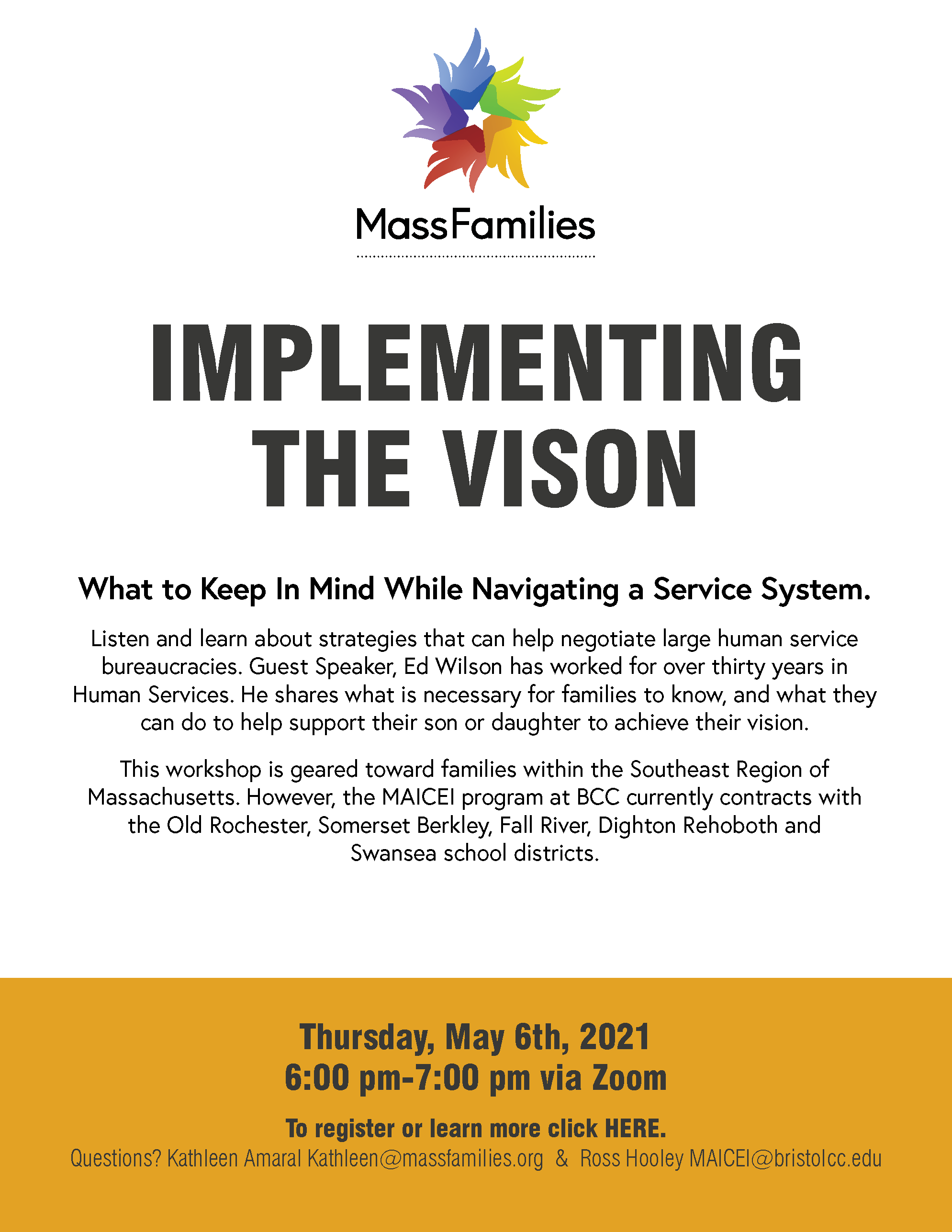 MassFamilies Implementing The Vision