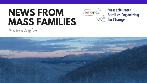 NEWS FROM MASS FAMILIES - western region