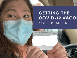 Getting the Covid-19 Vaccine Nancy's Perspective