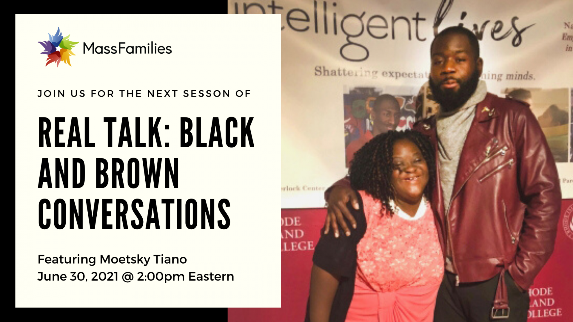 Real Talk Black and Brown Conversations Moetsky Tiano