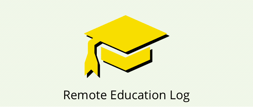 Remote Education Log